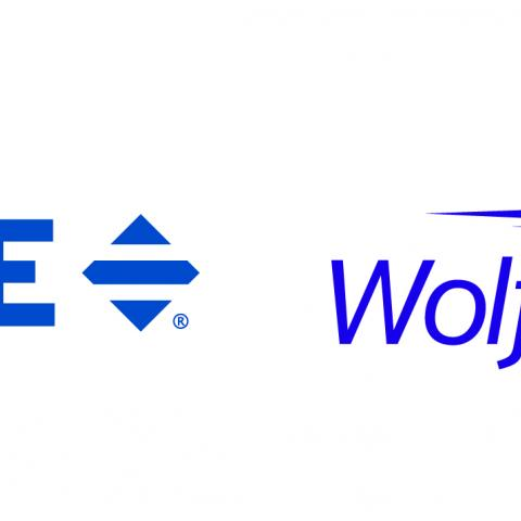 Two company logos side by sid
